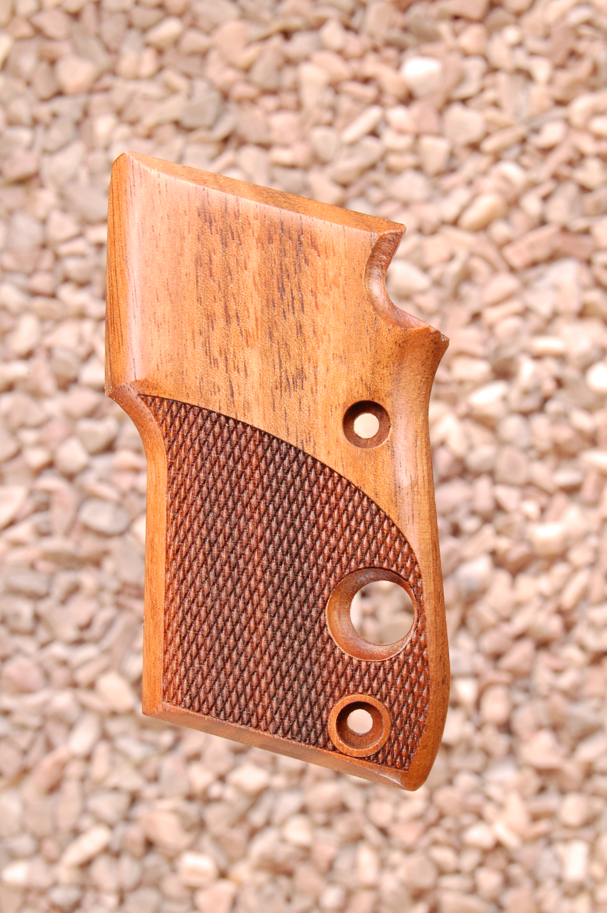 BERETTA 21A grips (checkered) - full size