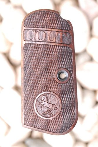 COLT 1903 HAMMERLESS GRIPS (checkered)