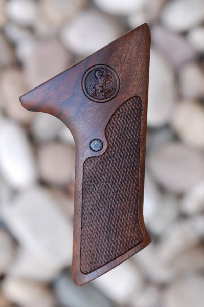 COLT WOODSMAN MATCH TARGET 3rd series GRIPS (checkered) - full size