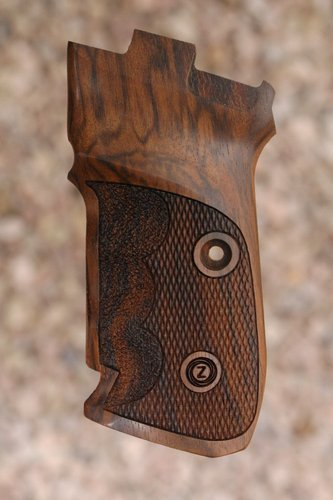 CZ 82/83 GRIPS With Finger grooves (checkered)