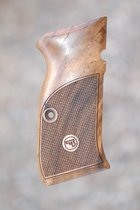 CZ 97 grips (checkered)