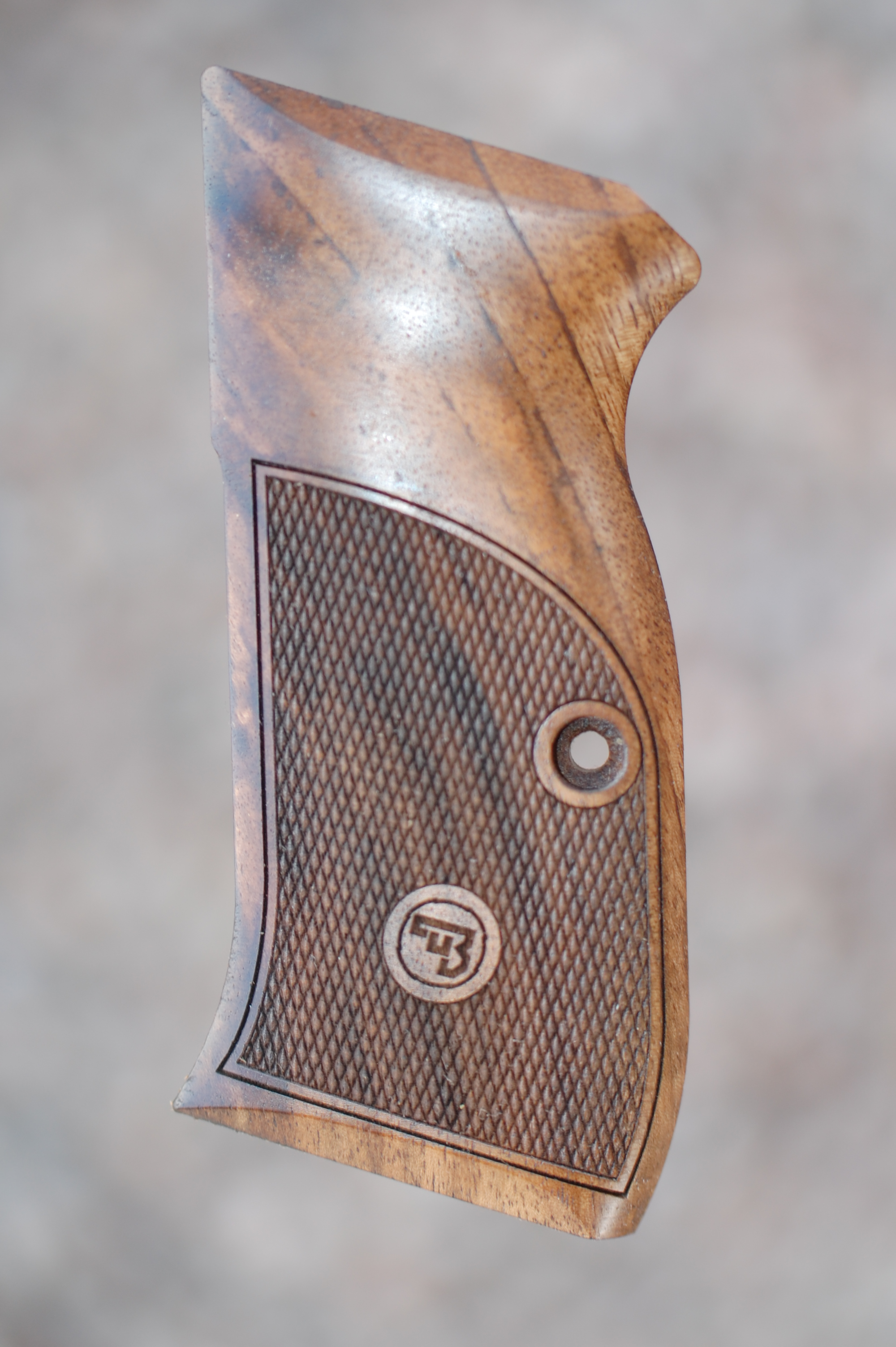 CZ 97 grips (checkered) - full size