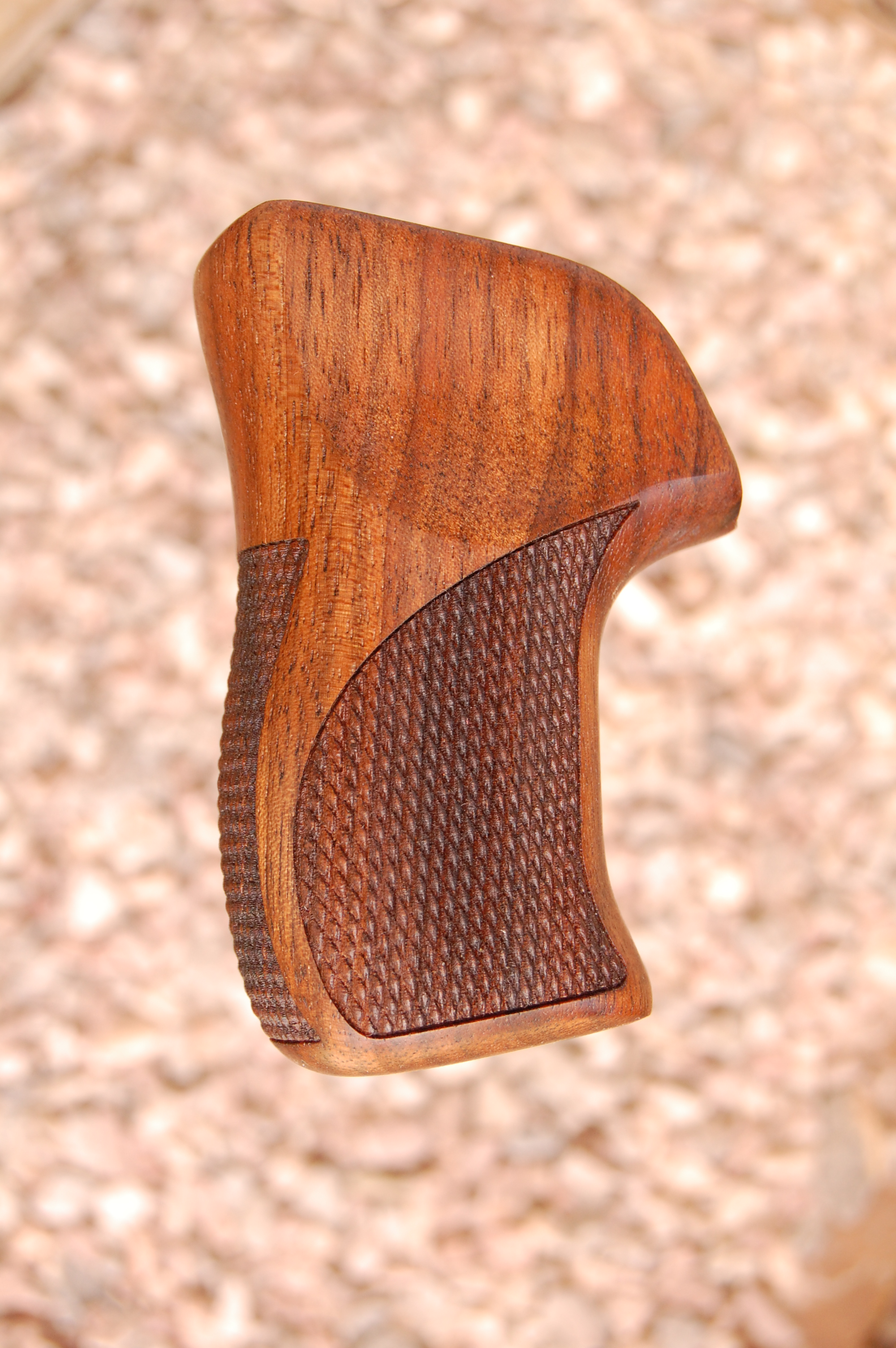 RUGER LCR grip (checkered back) - full size