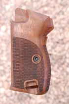 SIG P210 grips, bottom m.r., heavy (checkered back)