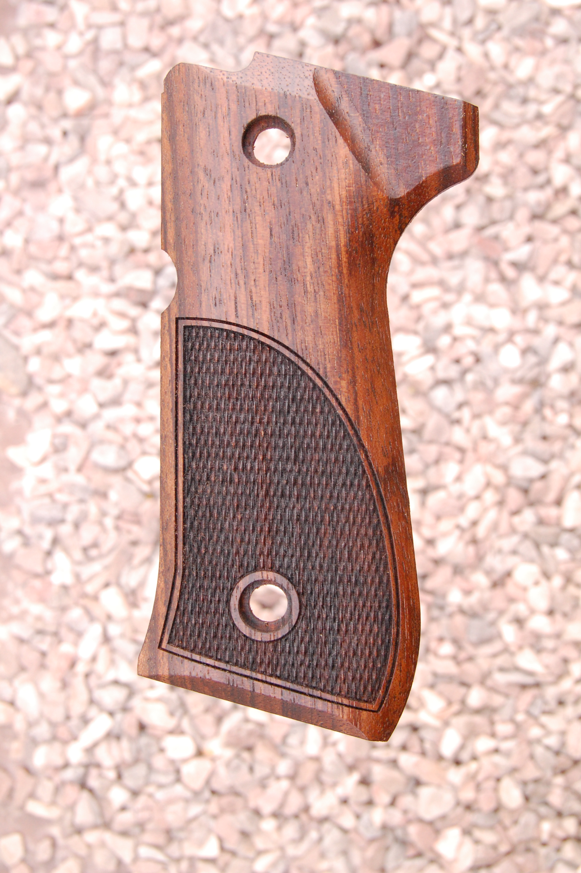BERETTA 92/96 grips (partially checkered) - full size
