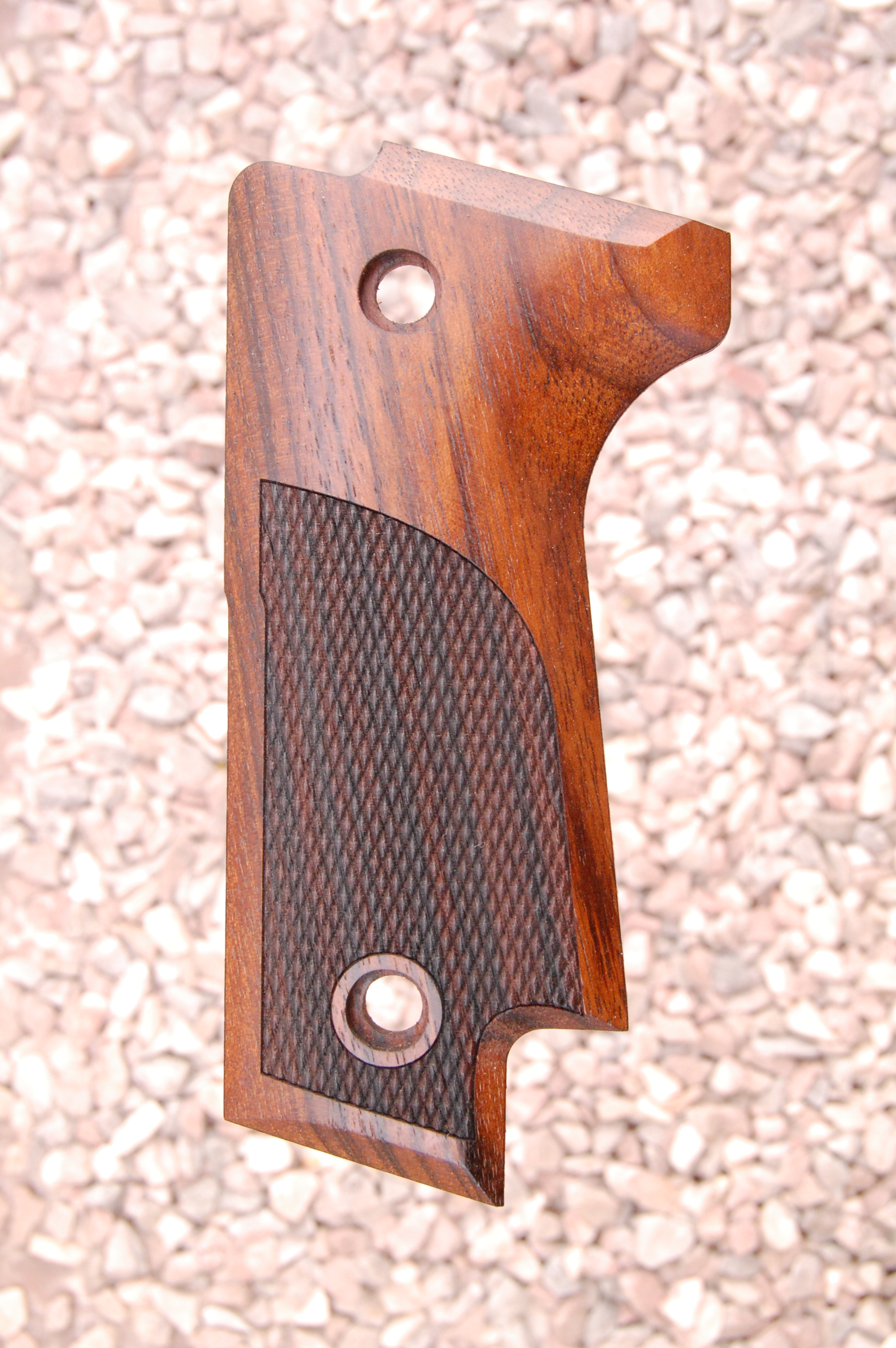 BERETTA 92S grips (partially checkered) - full size