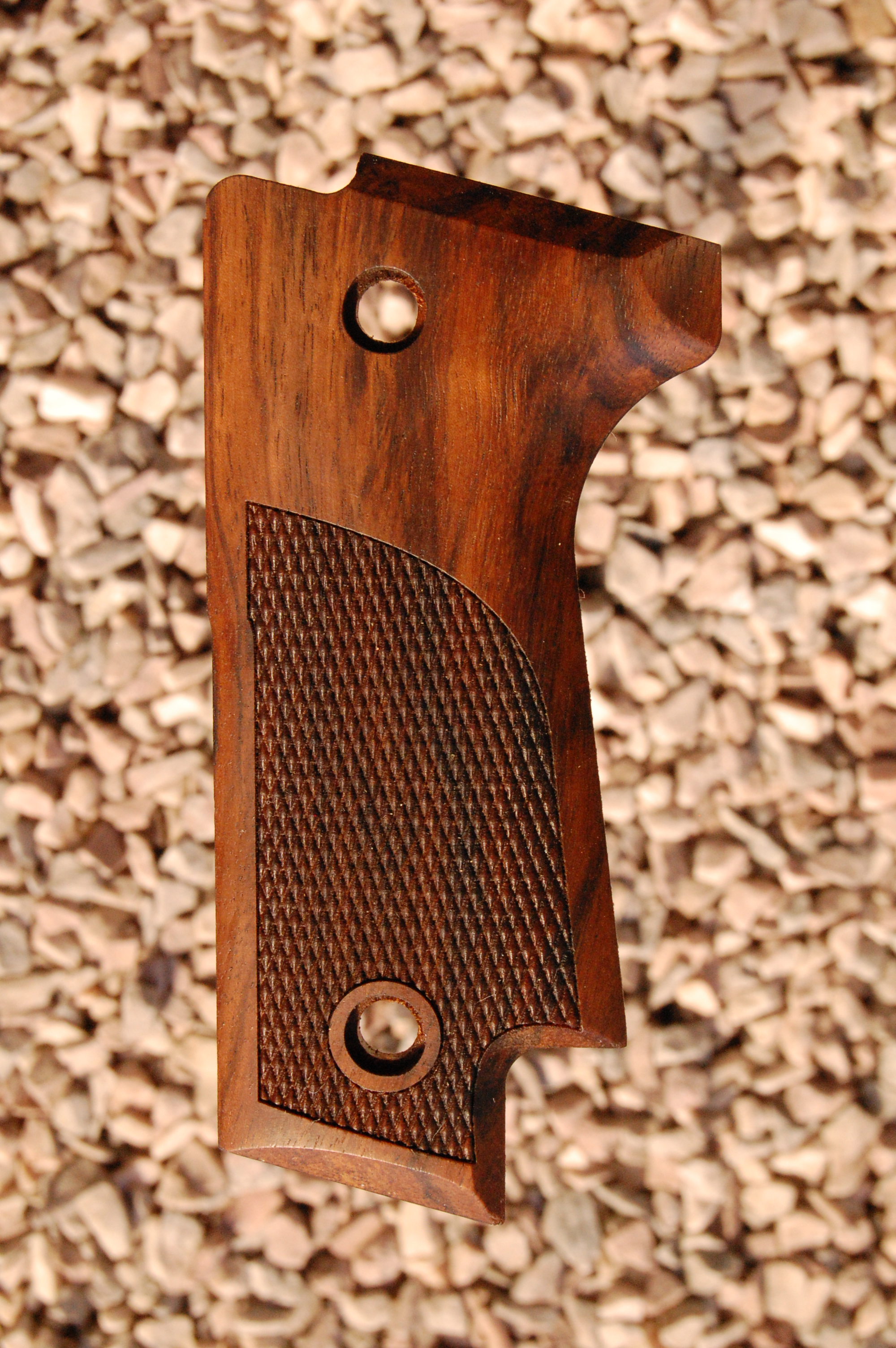 BERETTA 92S type 2 grips (partially checkered) - full size
