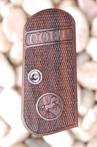 COLT 1903 HAMMERLESS GRIPS (checkered) - full size