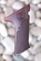 COLT WOODSMAN 2nd series GRIPS W/O THUMB REST (checkered)