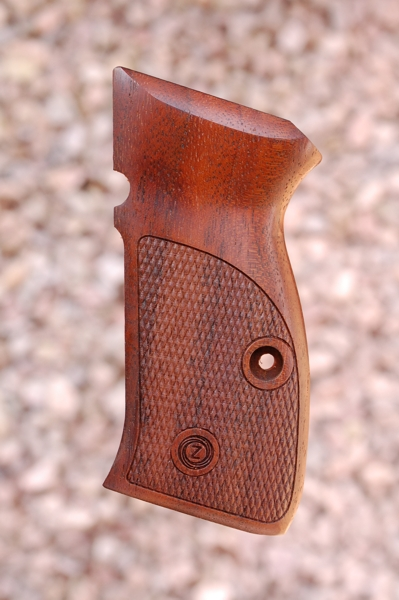 CZ 75 COMPACT GRIPS (checkered) - full size