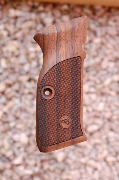 CZ 75 grips type 1 (checkered) - full size