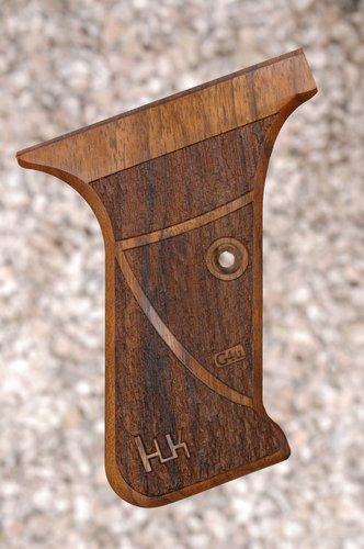 HK P7 GRIPS w/ flush mag.rel (textured)