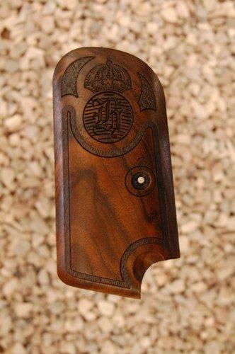 Husquarna 1907 grips (smooth+logo)