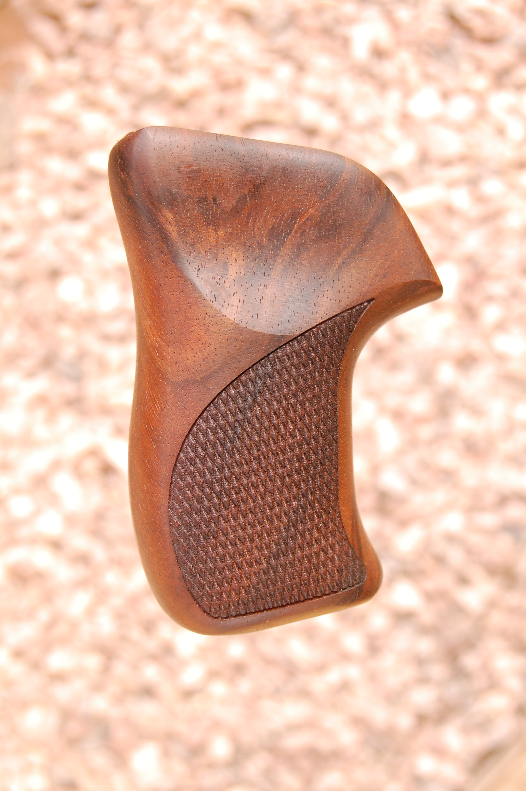 RUGER LCR grip (checkered) - full size