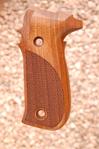 SIG P226 new grips (checkered)