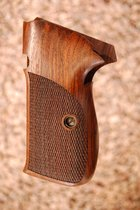 SIG P210A American grips (checkered)