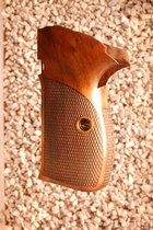 SIG P210A American grips (checkered back)