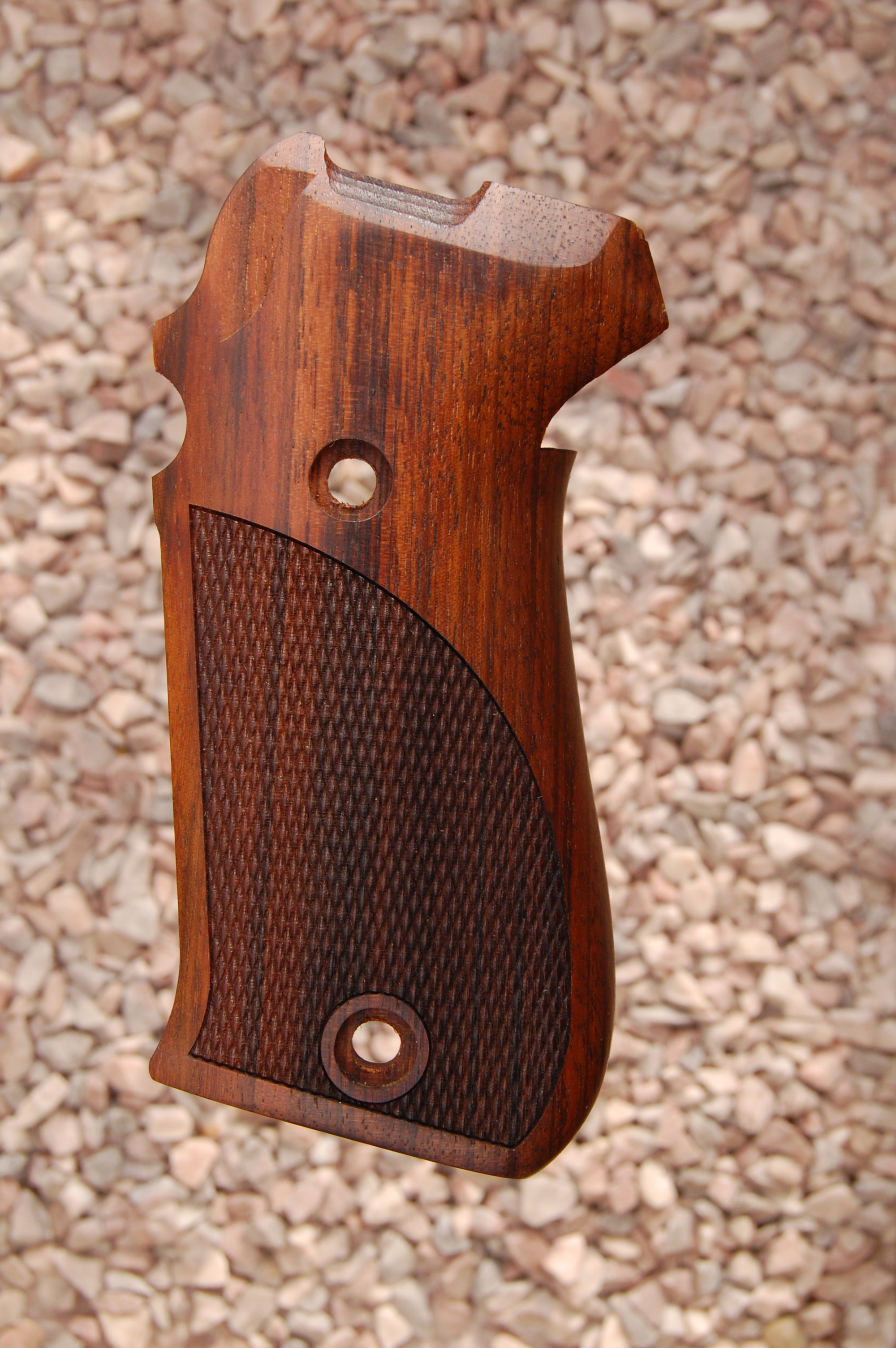 SIG P220 GRIPS (checkered) - full size