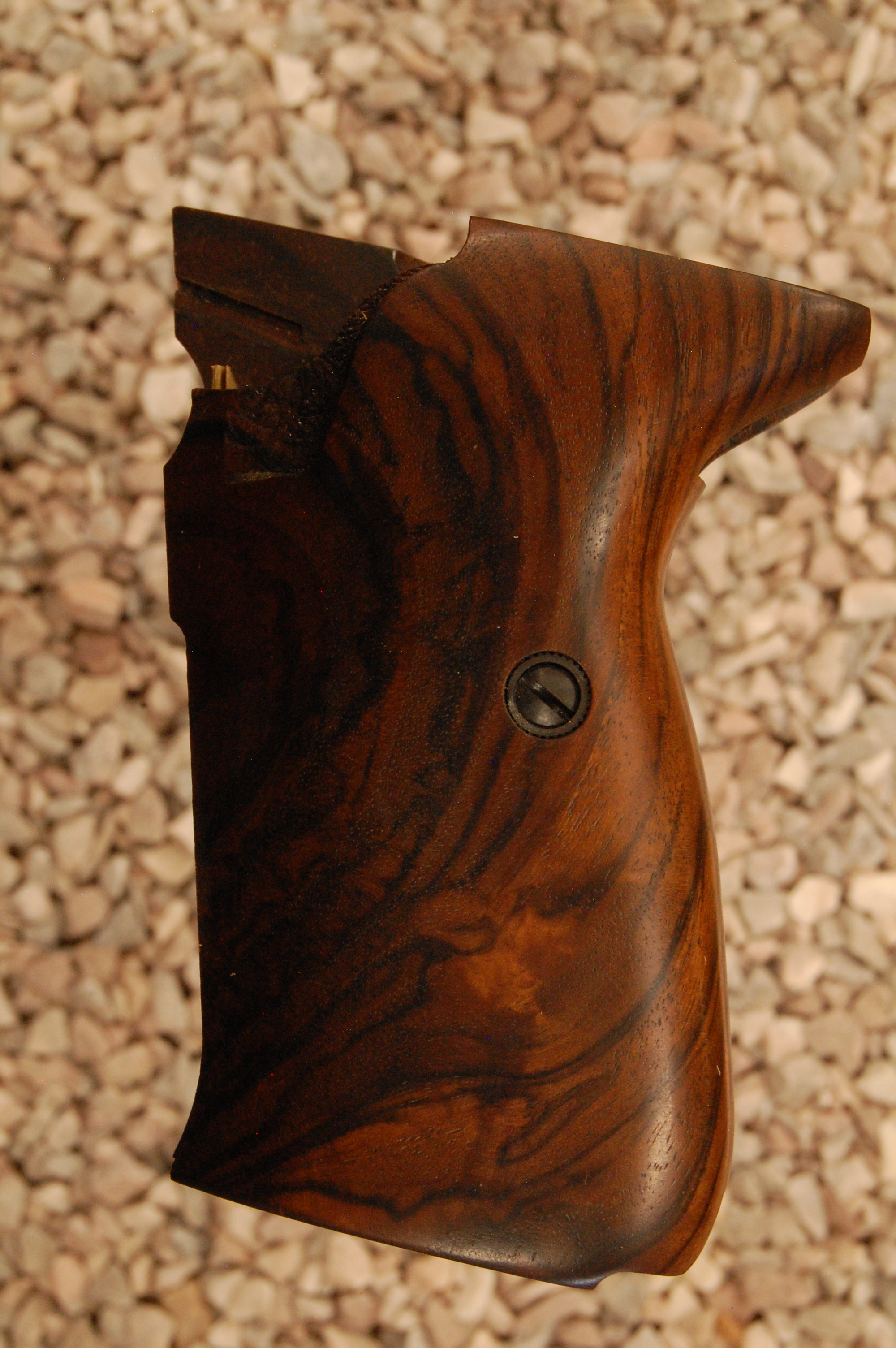 WALTHER P5 grips (smooth #823) - full size