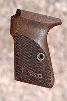 WALTHER PP GRIPS (checkered+logo)