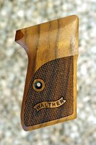 WALTHER PPK/S .22 GRIPS (ckrd+logo)