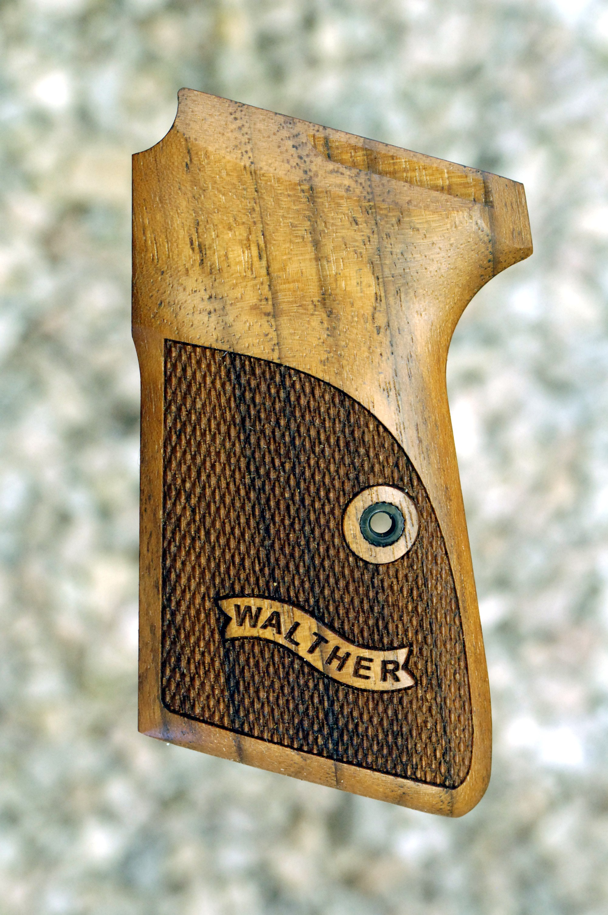WALTHER PPK/S .22 GRIPS (ckrd+logo) - full size