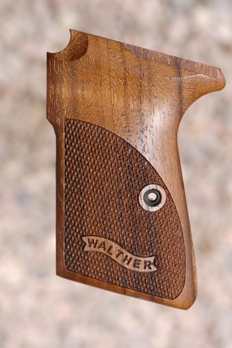 WALTHER PPK/S GRIPS (checkered+logo)